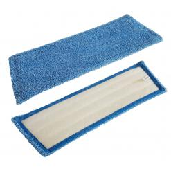 Vlakmop microvezel klittenband velcro 28-45 blauw