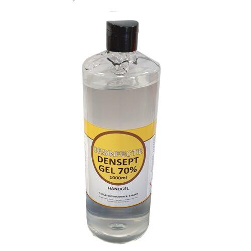 Desinfecterende handgel alcoholgel 1 liter