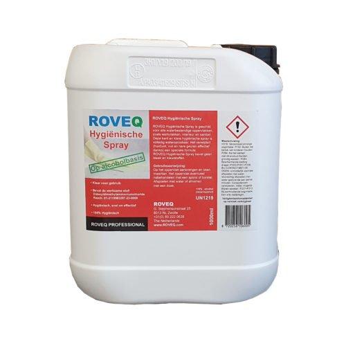 ROVEQ Hygiënische spray op alcoholbasis 5 liter navulverpakking