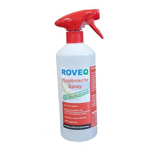 ROVEQ Hygiënische spray op alcoholbasis 750ml- 100% Hygiënisch
