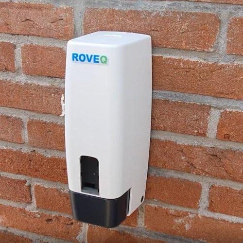 Dispenser navulbaar 1 liter geschikt voor handzeep en waterdunne vloeistof ( bekijk eerst het filmpje)