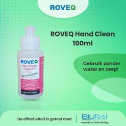 Hand Clean Hygiënisch op alcoholbasis 100ml - handen wassen zonder water - Effectiviteit is getest