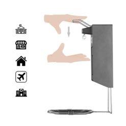 Spraydispenser geschikt voor desinfectie met elleboogbediening 500ml navulbaar 1
