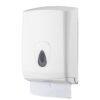 Handdoekdispenser Z en C vouw kunststof Wit - PlastiQline2
