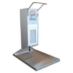 Desinfectiedispensers en zuilen