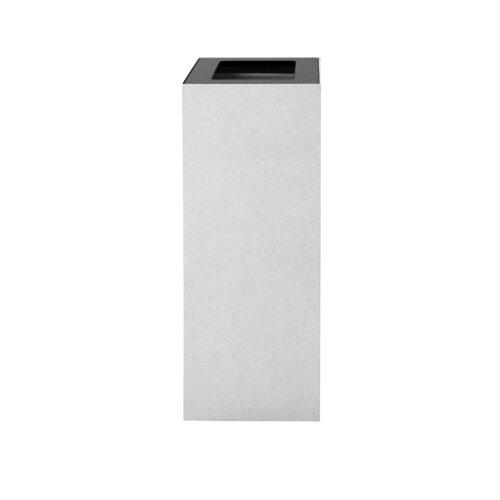 Afvalbak koppelbaar - afvalscheidingsunit - bak 60 liter met grijze zw markering
