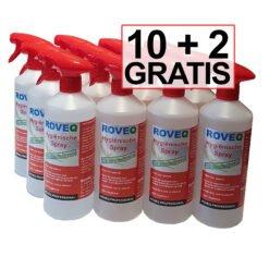 10+2 x 750ml ROVEQ Hygiënische spray - bewezen effectief