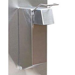 RVS dispenser beschermer - Full RVS cover - Hufterproof