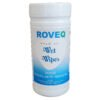 ROVEQ premium wet wipes in dispenseremmer - 70 doeken - 20x30cm