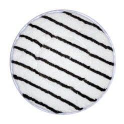 Microvezel vloerpad wit-grijs - diverse maten